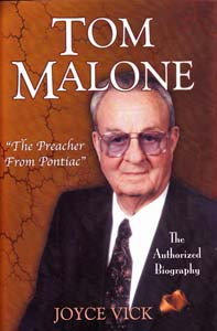 Tom Malone:  The Preacher From Pontiac